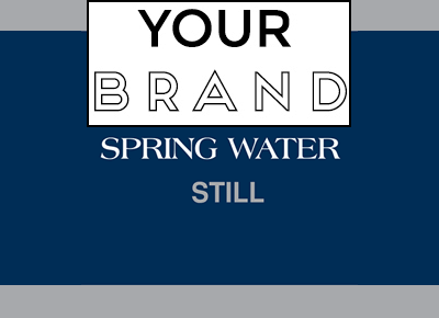 Meanders Spring Water with your own brand