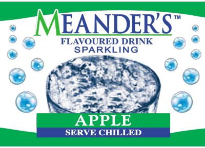 Meanders Spring Water Apple Flavour